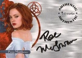 Rose McGowan autographs
