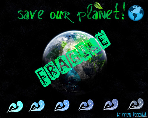 Save our planet!