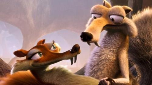 Ice age: Scrat and Scratte. wallpaper titled Scrat and Scratte