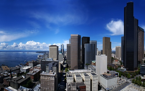 Seattle downtown