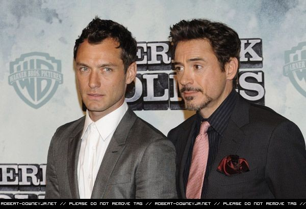 Sherlock Holmes Madrid Photocall and Premiere -13th January