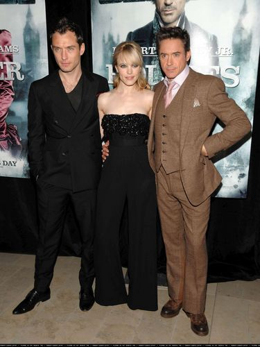 Sherlock Holmes New York Premiere - 17th December
