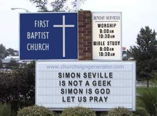 Simon Seville is God?