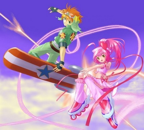 Shugo Chara wallpaper called Sky Jack and Amulet Heart