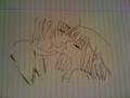 Small kiss drawing