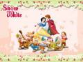 Snow White and her Prince - disney-couples wallpaper