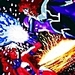 Starfire vs Blackfire - dc-comics icon
