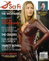 Tabett (Cara) in sci-fi magazine - legend-of-the-seeker photo