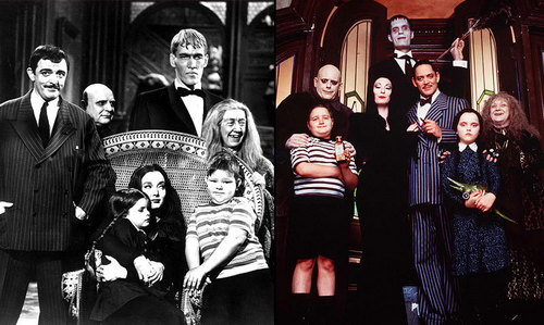 Addams Family wallpaper titled The Addams Family 1964 and 1991