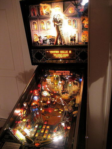 The Addams Family pin ball