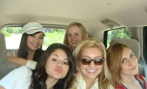 The Girls in the car ;)