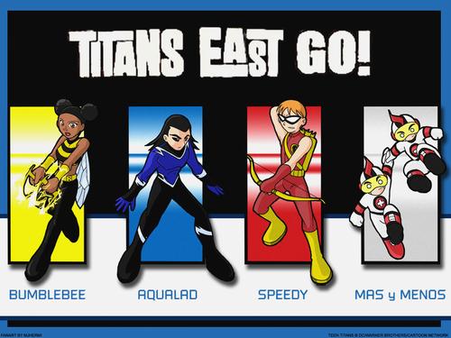 Teen Titans wallpaper entitled Titans East