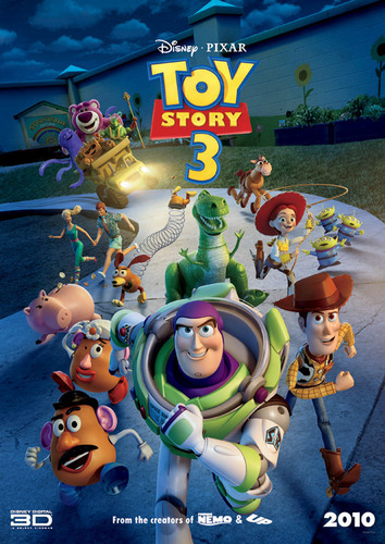 토이 스토리 바탕화면 entitled Toy Story 3: International Poster