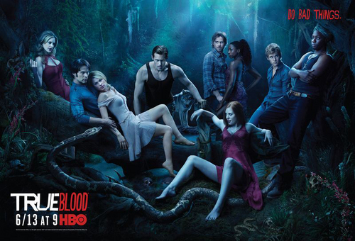 sangre verdadera fondo de pantalla entitled True Blood - Season 3 Poster from HBO