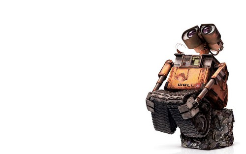 WALL E Wallpaper Titled Wall