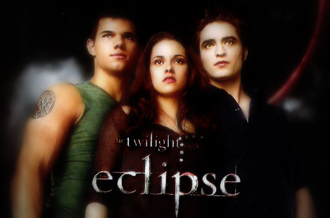 What are they looking at? Eclipse promo