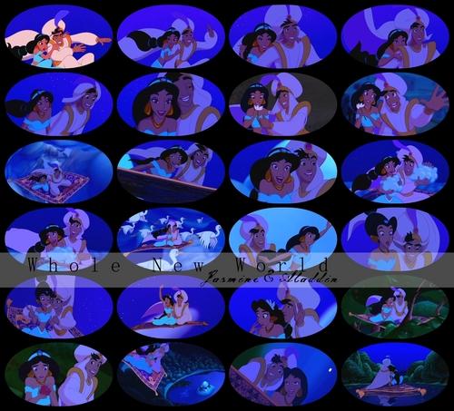 Whole New World-Aladdin&Jasmine-
