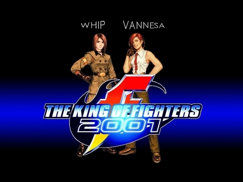 Yup Whip and Vanessa my 상단, 맨 위로 girl fighters.