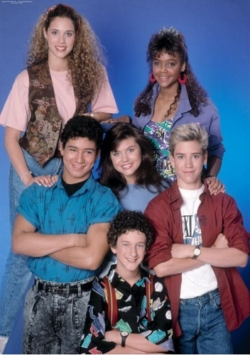 Saved by the Bell wallpaper called cast photos