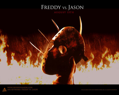 Friday the 13th wallpaper titled freddy vs. Jason