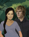 katniss and peeta - the-hunger-games photo