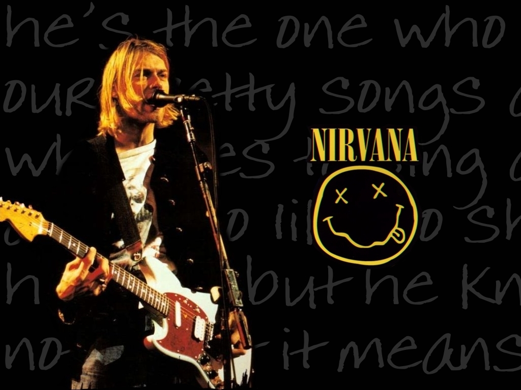 Kurt Cobain Nirvana Wallpaper 11736883 Fanpop