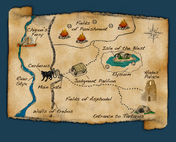 Percy Jackson Amp The Olympians Books Images Map Of The