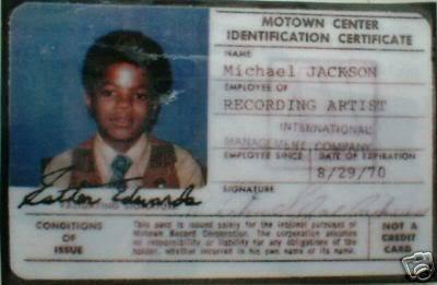motown identification certificate