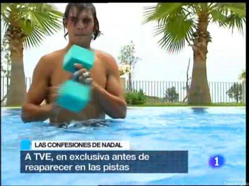 rafa swimming pool