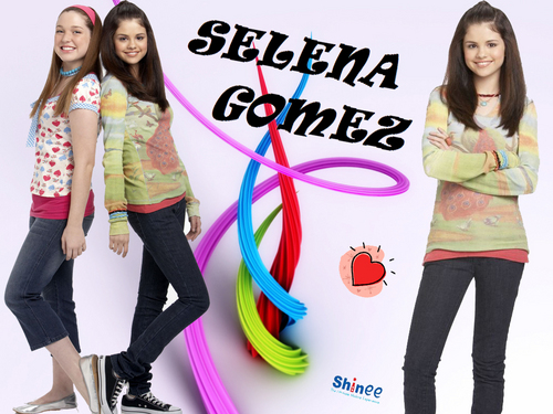 selena and miley wallpaper by shinee