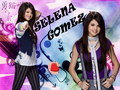 selena and miley wallpaper by shinee - alex-of-wowp-vs-hannah-of-hm wallpaper