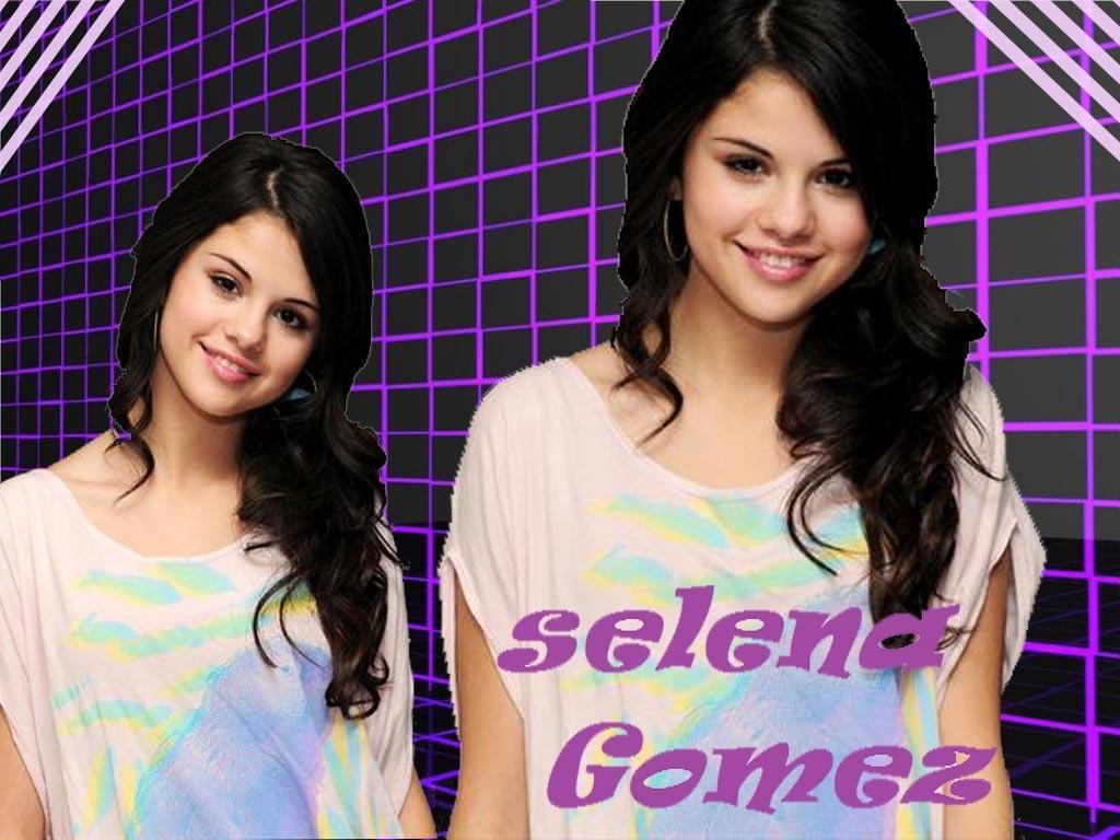 selena by shinee - selena-gomez wallpaper