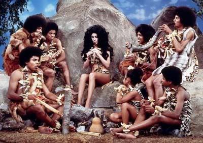 the Jacksons with Cher