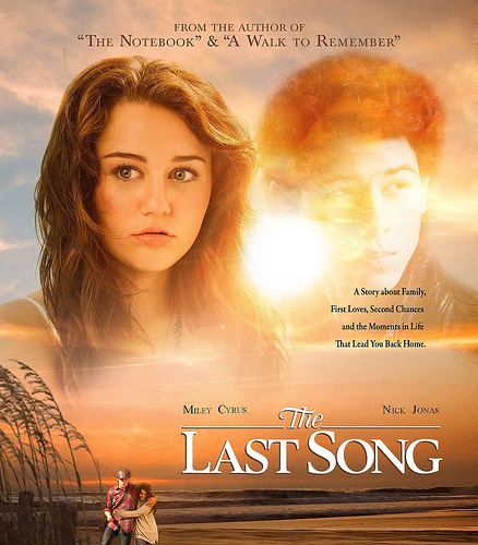 Miley Cyrus wallpaper called the last song poster (niley )