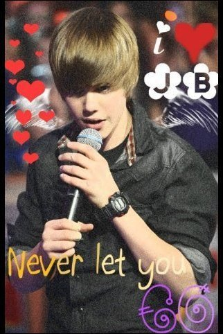 this is a hottie named justin bieber<3