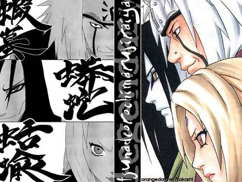 three legendary sannin