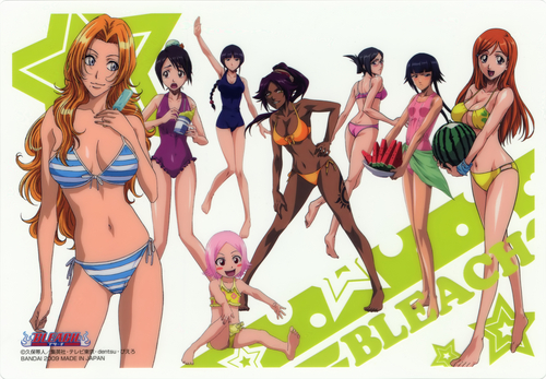 [Bleach beach, pwani Babes]