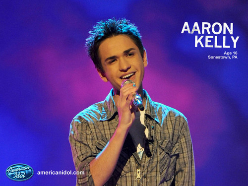 Aaron American Idol Wallpaper!