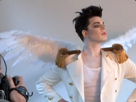 Adam arriving and germany and photoshoot!he went PLATINUM!