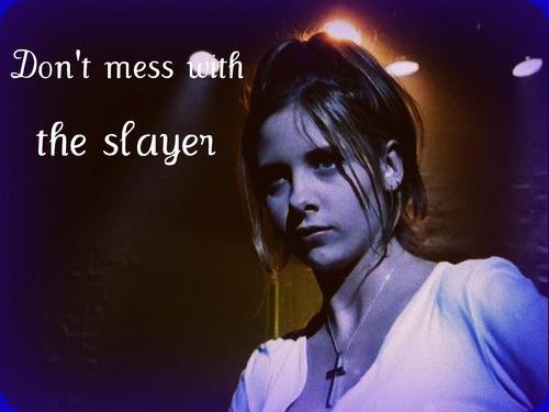 Buffy the Vampire Slayer wallpaper entitled BTVS WALLPAPERS BY ME