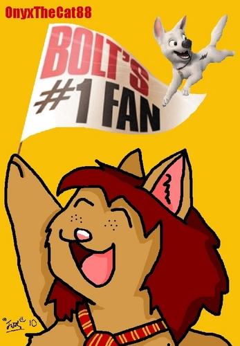 BoltsBiggestFan (OnyxTheCat88) Bolt's #1 پرستار