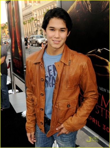Booboo Stewart has a Nightmare on Elm rua