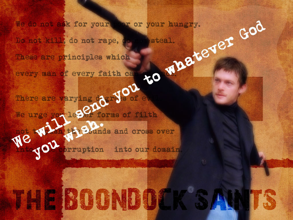 the boondock saints The boondock saints are making a comeback on the small screen troy duffy, the writer-director behind the 1999 feature film and its 2009 sequel, has.