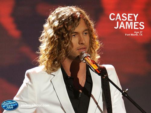 Casey American Idol Wallpaper!