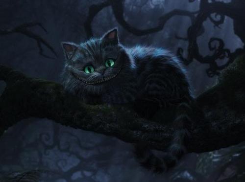 Alice in Wonderland (2010) wallpaper entitled Cheshire cat