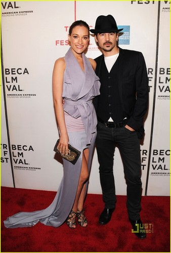 Colin Farrell & Alicja Bachleda: Tribeca Twosome