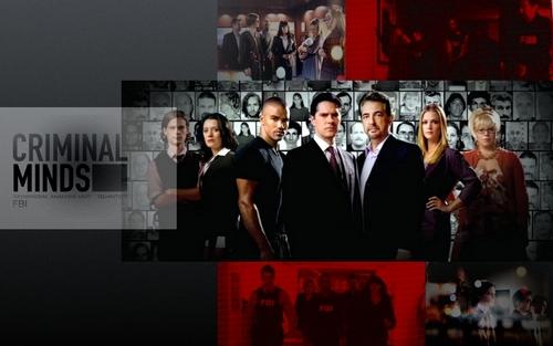 Esprits Criminels fond d'écran entitled Criminal Minds