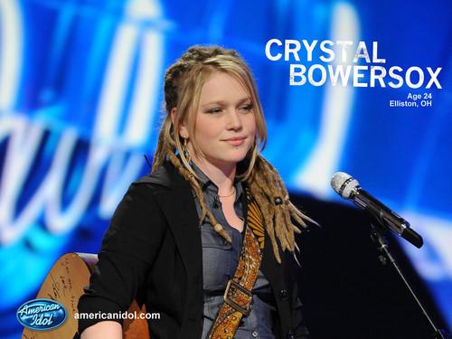 Crystal American Idol Wallpaper!