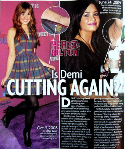 Demi Lovato at magazines