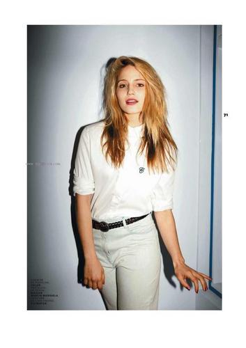 Dianna's Jalouse Magazine foto Shoot